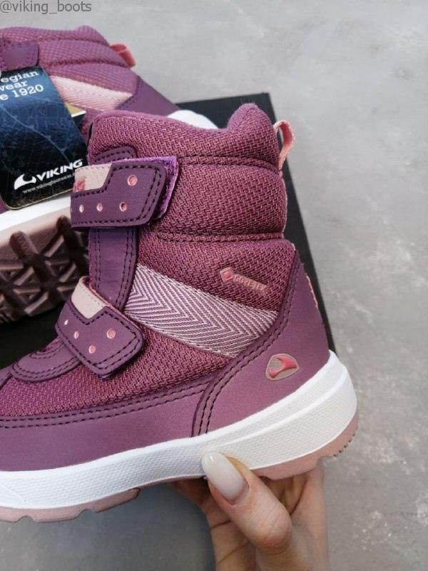 Ботинки Viking Play II R GTX Light Pink/Dark Pink (Викинг)