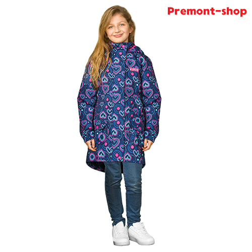 Плащ для девочки Premont Фейерверки Лото-Квебек