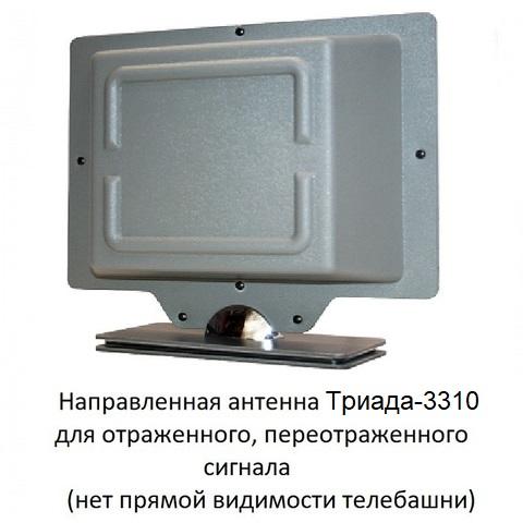Где установить антенну? Снаружи или внутри дома? Для начинающих статья на эту тему. Триада-3310