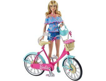 Велосипед для кукол барби