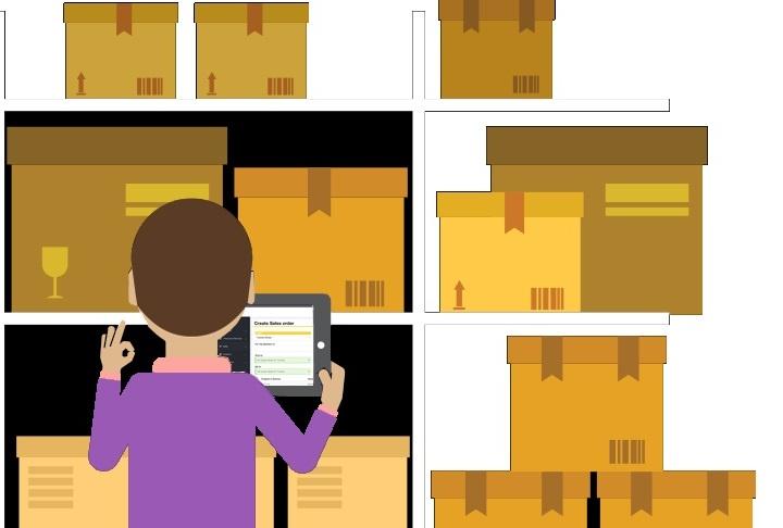 Использование программ учета облегчает ночную инвентаризацию магазина