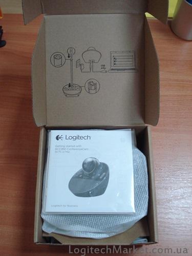 LOGITECH_BCC950_opened box