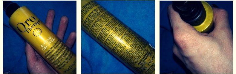 Фотоогляд на двофазний кондиціонер з кератином Fanola