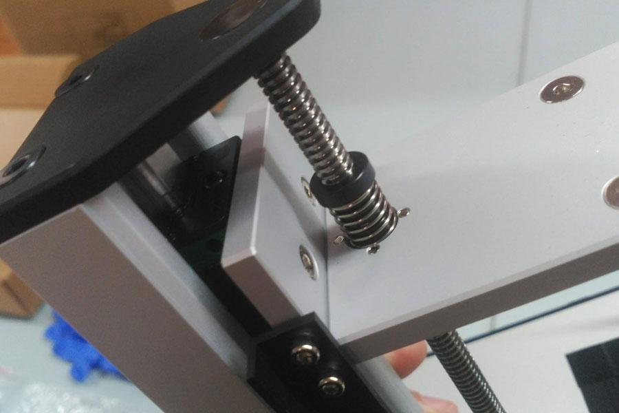 Вид со стороны оси Z sonic mini