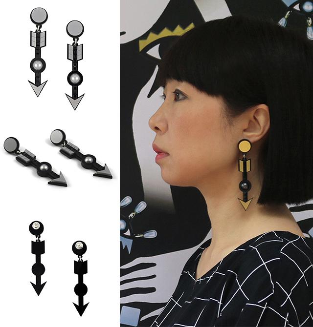 серьги Archer Arrow Earrings от Jennifer Loiselle