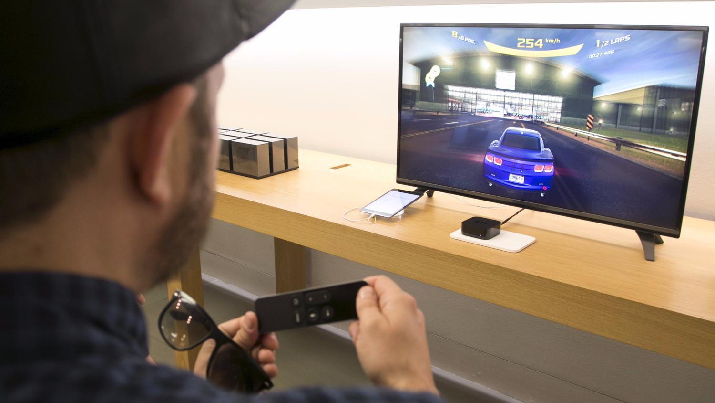 Apple TV Gen 4 32GB MR912RS/A - ТВ плеер Apple TV.