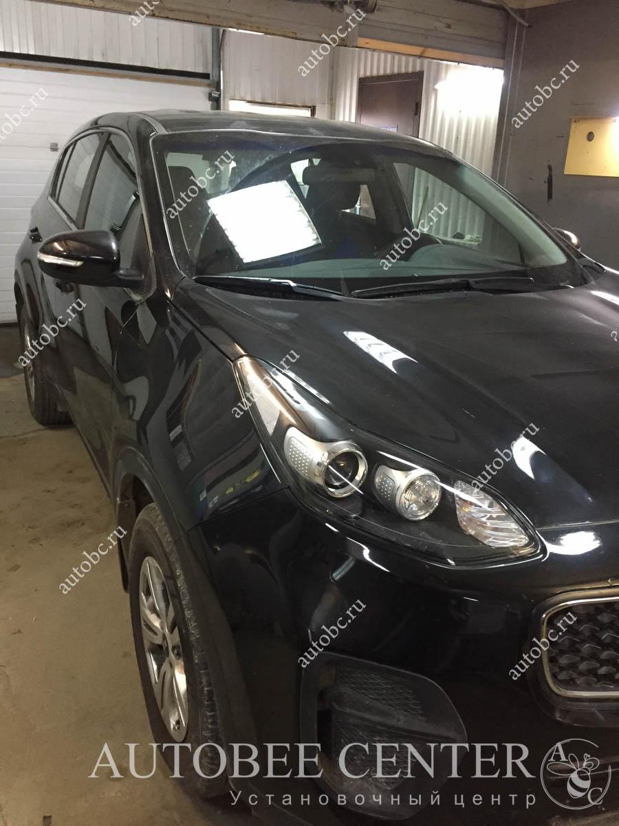 Kia Sportage (установка парктроника)