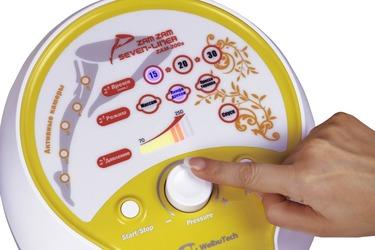 Регулировка давления на лимфодренажном аппарате