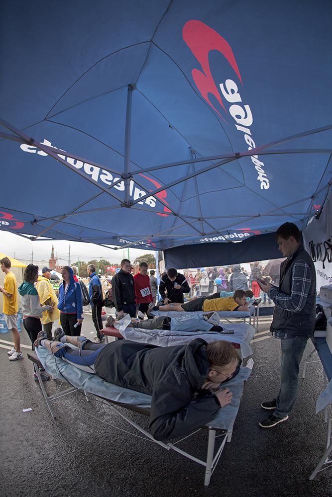 Eaglesports на Московском марафоне 2012