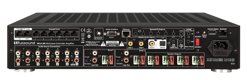 Контроллер мультирум Russound MCA-88