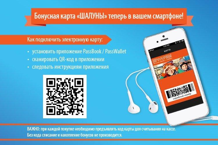 """Электронная карта """"Шалуны"""""""
