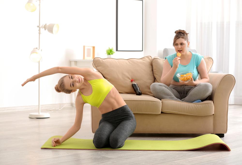 Как превратить вред в пользу? Будь активным или толстей!