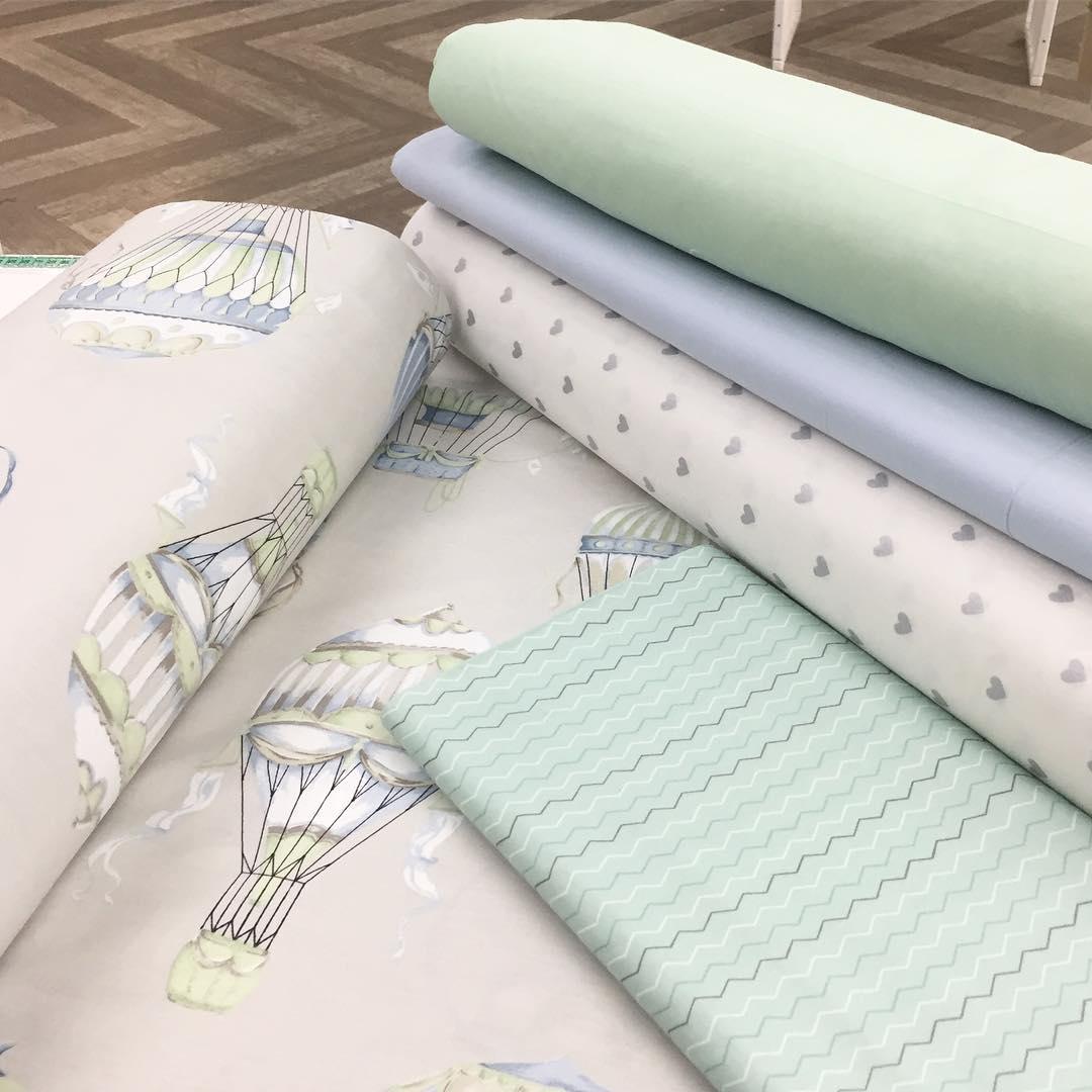 Купить ткань для детского постельного в розницу