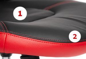 Сиденье с нишей и формой от затекания/отсиживания/передавливания сосудов ног