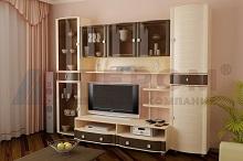ОЛИВИЯ Мебель для гостиной в цвете Беленый Дуб Комбинированный