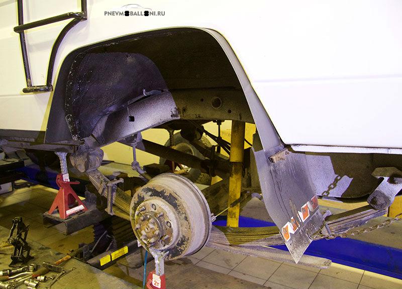 Задняя Подвеска на Тойоте Ленд Крузер 78