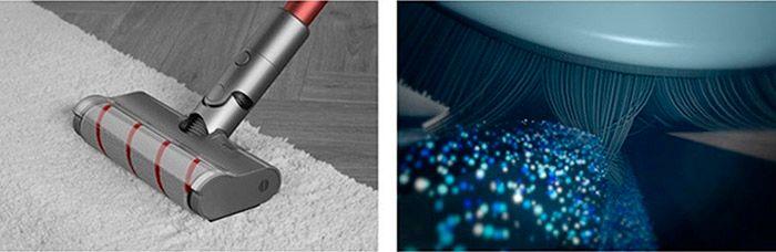 Беспроводной ручной пылесос Dreame V11 Vacuum Cleaner Global щетка с электродвигателем