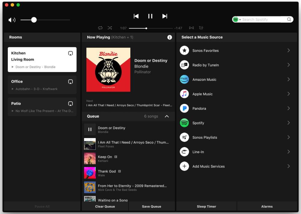Сетевой плеер Sonos Port