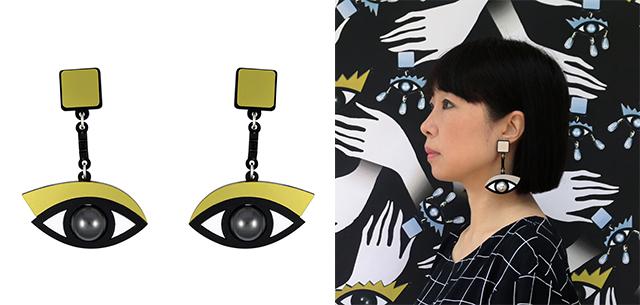 серьги In The Blink Of An Eye Earrings от Jennifer Loiselle