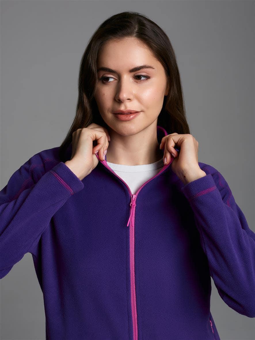Толстовка женская 511L-RT-1536 фиолетовая