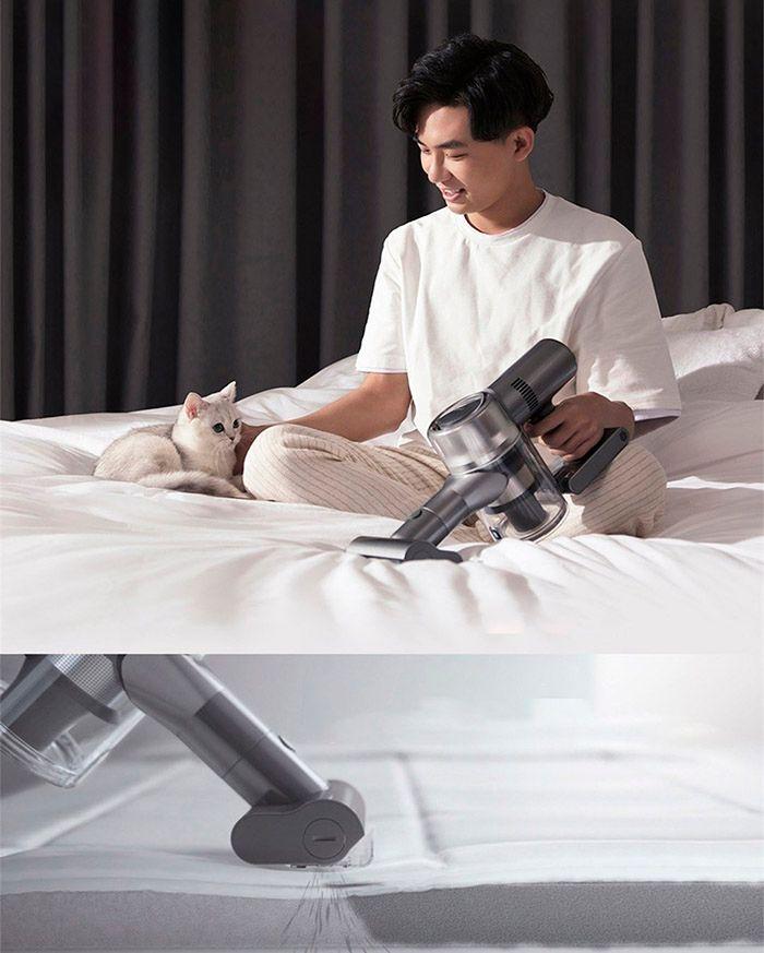 Беспроводной ручной пылесос Dreame V11 Vacuum Cleaner Global удаление клещей