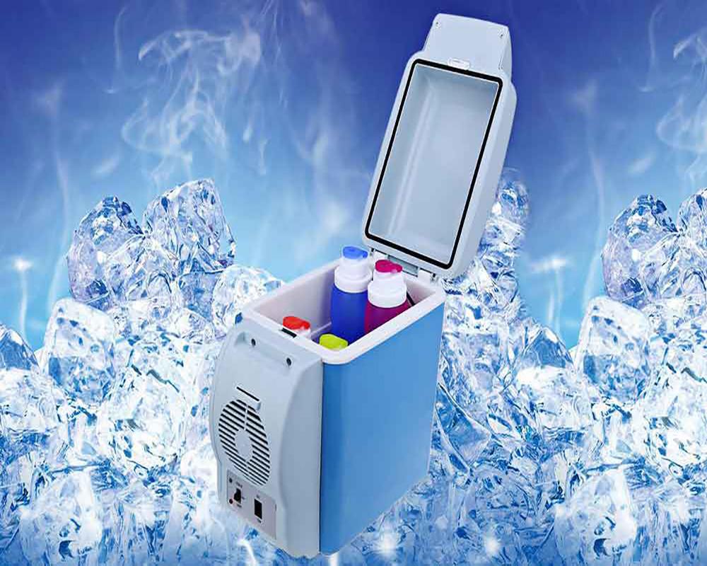 Холодильник автомобильный Portable Electronic Cooling & Warming Refrigerators- 6,0 л – мини автохолодильник