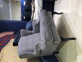 Классическое каминное кресло с ушками френсис KREIND