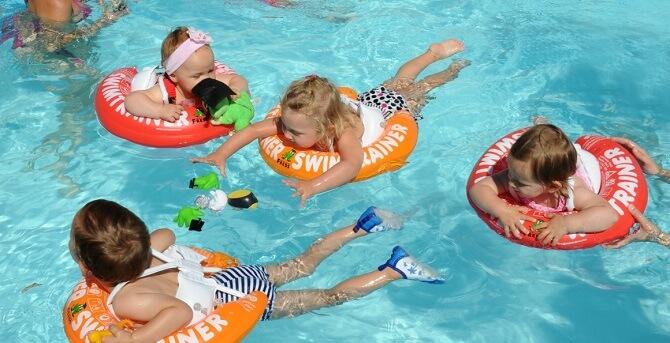 Круги Swimtrainer Classic Красный, Оранежевый и Желтый в наличии в интернет-магазине Мама Любит!