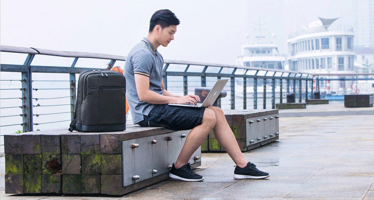 Бизнес рюкзак Xiaomi Classic Business Backpack  (черный)