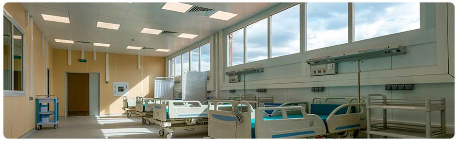вентиляция в инфекционной больнице
