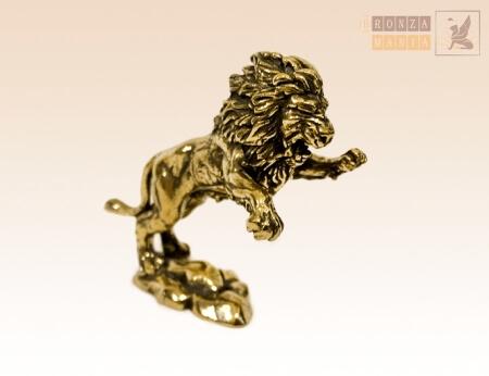 Знак зодиака из бронзы - лев
