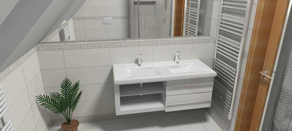 Водяной полотенцесушитель в интерьере ванной комнаты