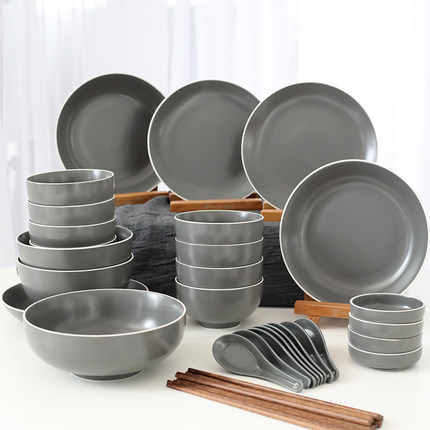 Большие наборы столовой посуды
