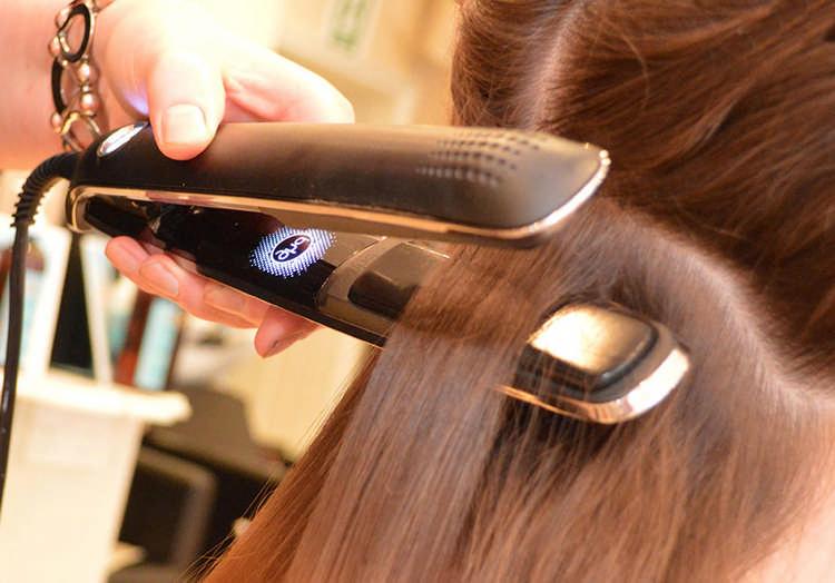 Выравнивание волос