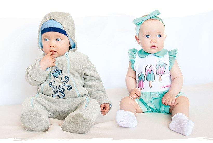 Одежда для малыша, какая она?