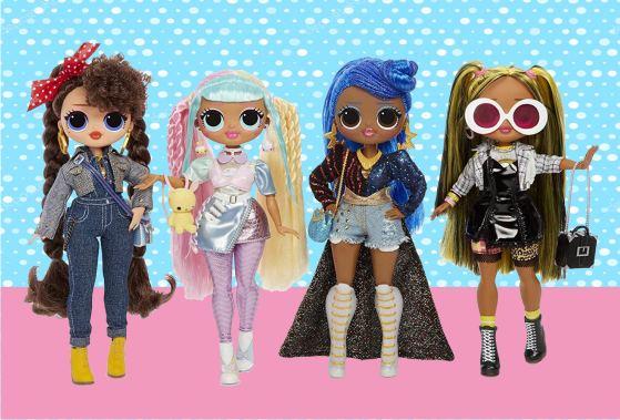 Четвёрка лучших кукол LOL OMG 2 волна