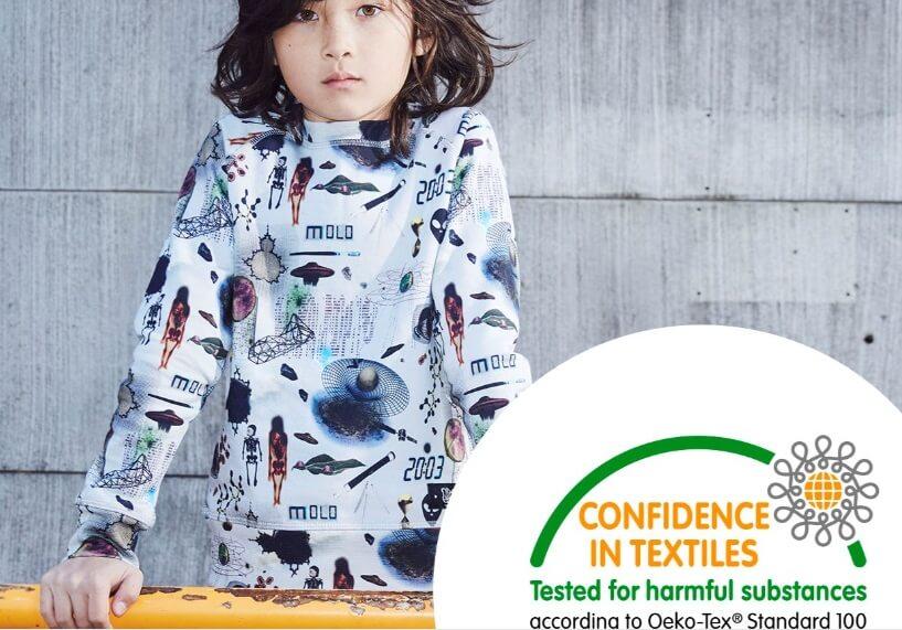 Одежда Molo сертификат Oeko-Tex 100 - интернет-магазин Мама Любит