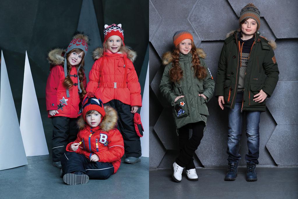 куртки-парки для девочек и мальчиков
