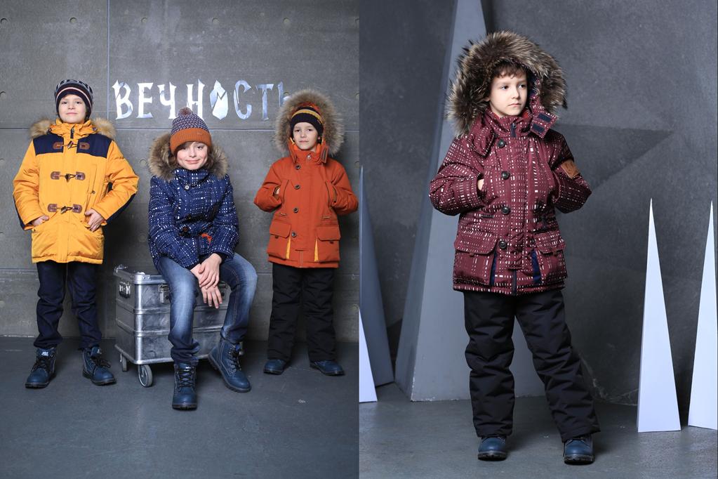 куртки-парки для мальчиков