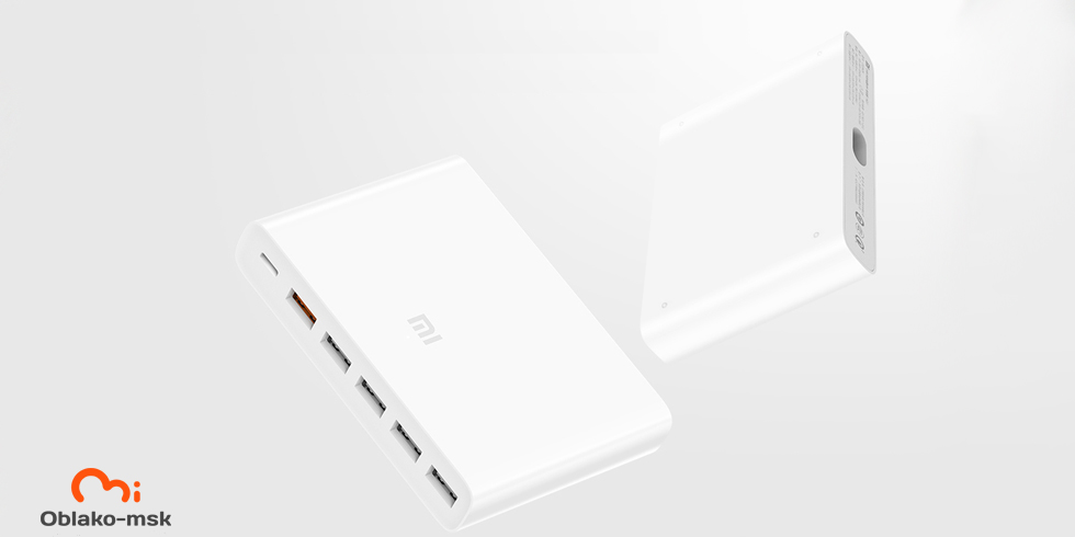 Зарядное устройство Xiaomi Super fast charger with 6 USB ports 60W QC3.0