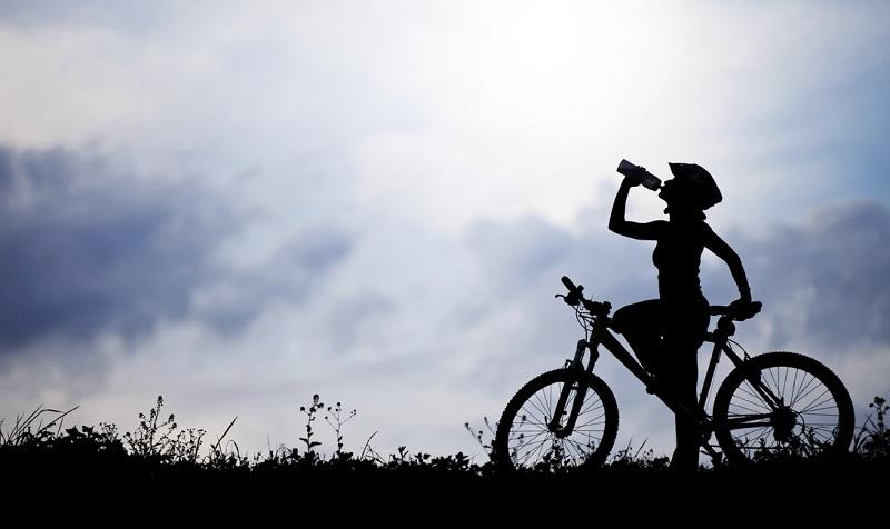 Здоровый велосипедист