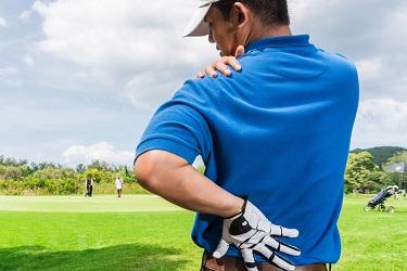 гольф травмы