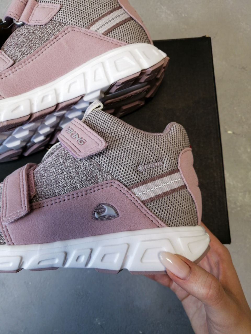 Кроссовки Viking Rindal GTX Dusty Pink/Light Lilac