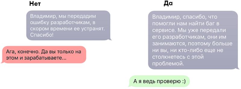 Структура диалога