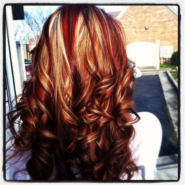 Эффект «выгоревших волос» 1