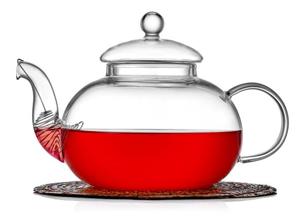 Чайник с ситечком