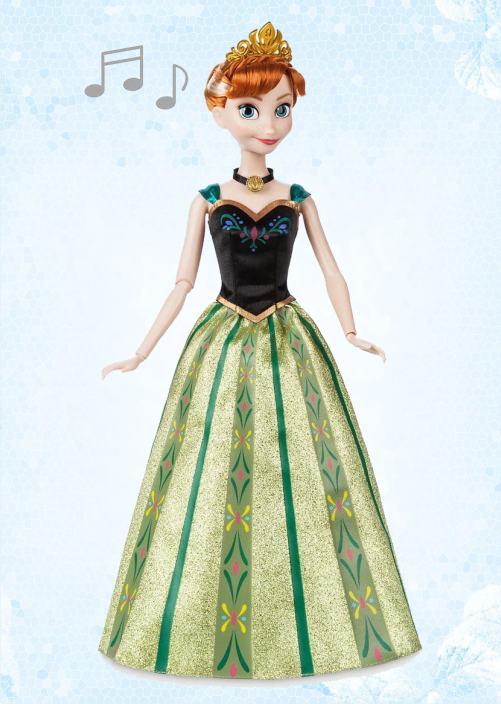 Кукла Анна поющая из Холодное сердце