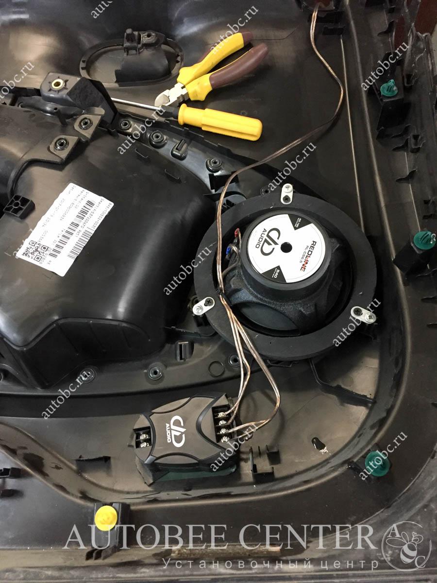 установка акустики dd cs6.5