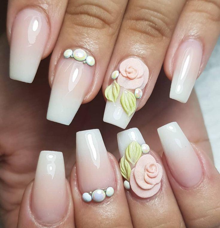 гель акрил в дизайне ногтей
