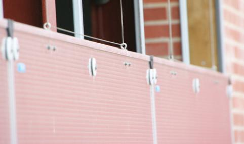 Вентиляционные панели из поликарбоната для коровников